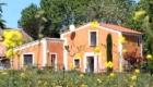 maison abricot et orange